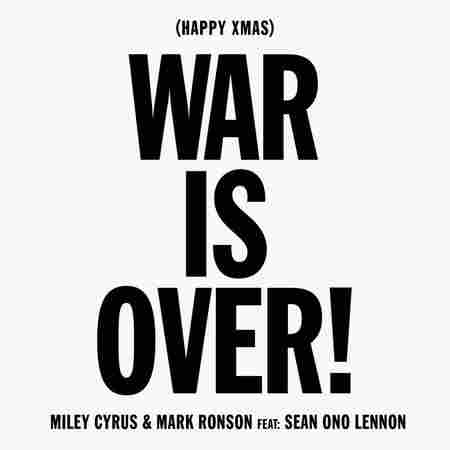 Miley Cyrus And Mark Ronson Called War Is Over